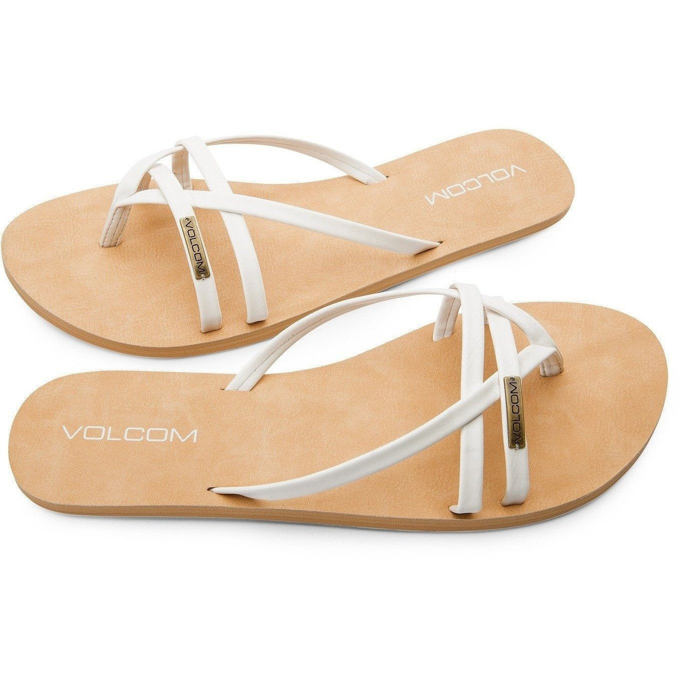 Volcom Lookout 2 Women's Sandals - White - 88 Gear