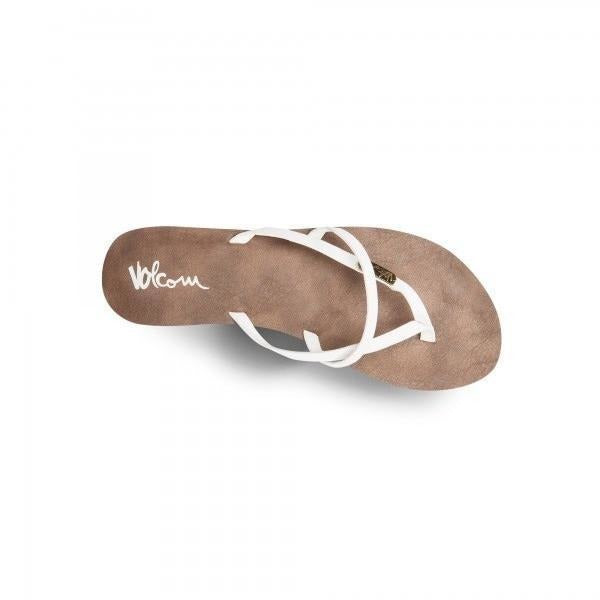 Sandal - Volcom Women's All Night Long Sandals - White