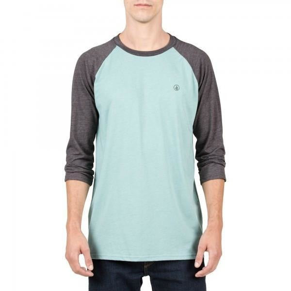 Shirt - Volcom Solid Heather 3/4 Raglan