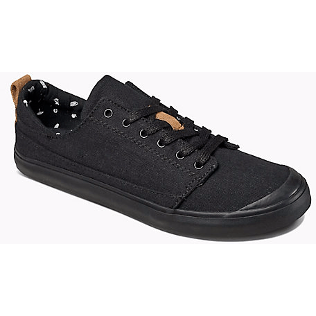 Reef Walled Low Girls Shoes Black - 88 Gear
