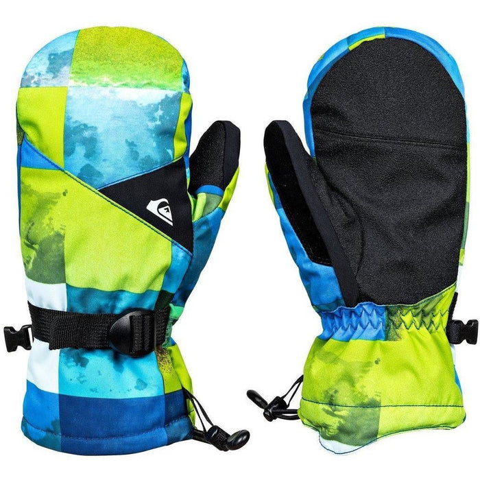 Snow Gloves - Quiksilver Boy's  8-16 Mission Gloves