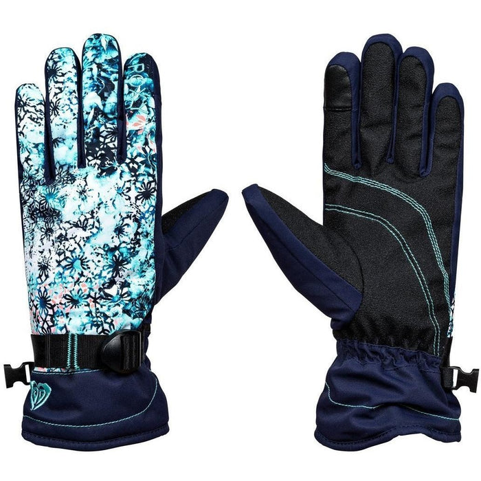 Snow Gloves - Roxy Jetty Snow Gloves Blue - 2018