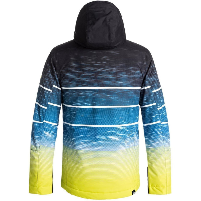 Snow Jacket - Quiksilver Boy's 8-16 Mission Engineered Snow Jacket
