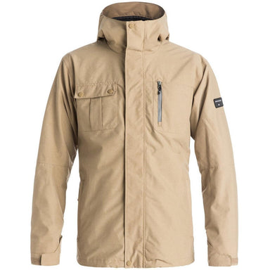 Snow Jacket - Quiksilver Mission 3 In 1 Snow Jacket