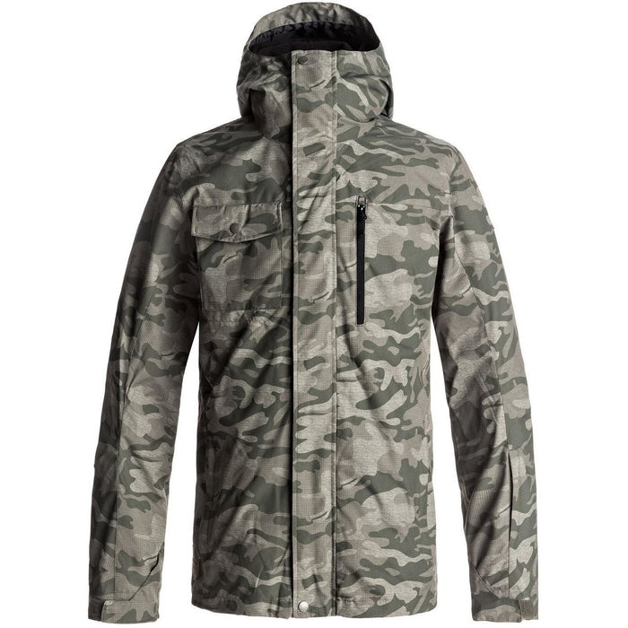Snow Jacket - Quiksilver Mission 3-in-1 Snowboard Jacket