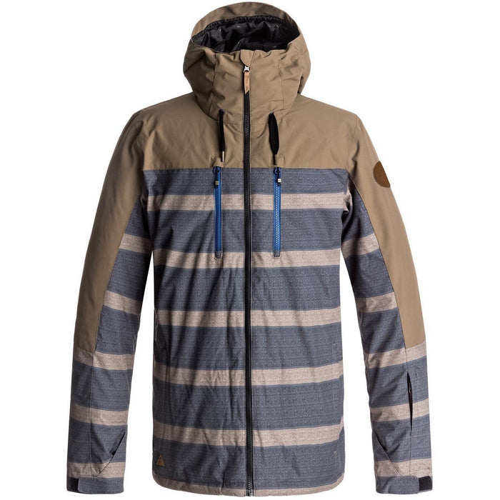 Snow Jacket - Quiksilver Mission Block Snow Jacket