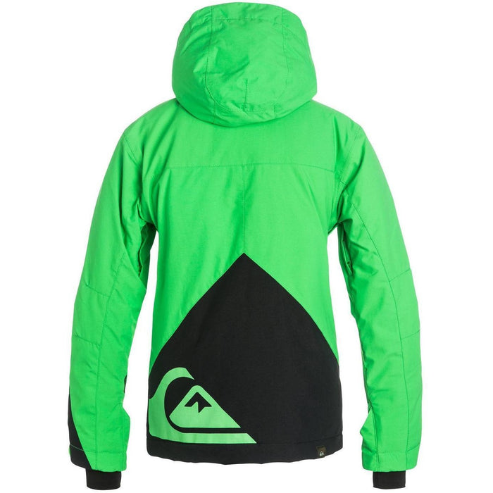 Snow Jacket - Quiksilver Mission Colorblock Boy's Snowboard Jacket
