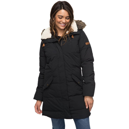 Snow Jacket - Roxy Ellie Parka - Black