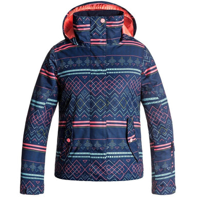 Snow Jacket - Roxy Girls Jetty Snow Jacket Blue - 2018