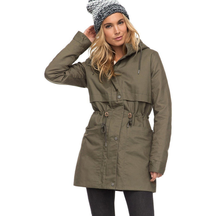 Snow Jacket - Roxy Sea Dance - Water Repellent Parka For Women