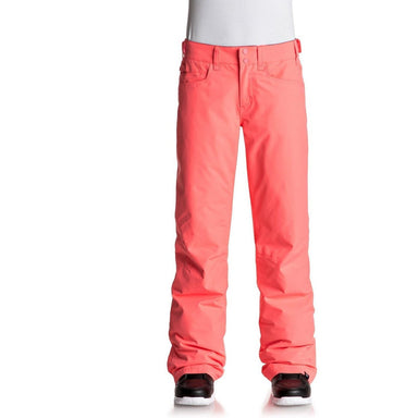 Roxy Backyard Women's Snow Pants - Neon Grapefruit - 88 Gear