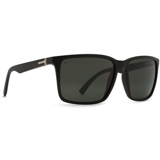 Sunglasses - VonZipper Lesmore Sunglasses Black With Polarized Lens