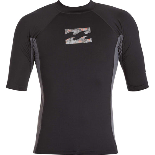 Surf Top - Billabong Iconic Short Sleeve Rashguard
