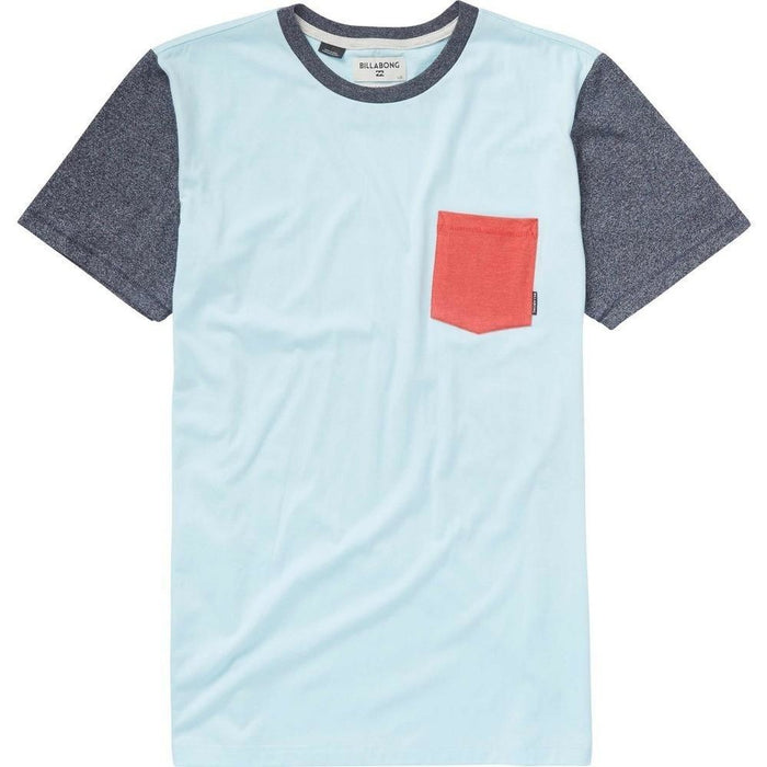 T-Shirt - Billabong Zenith Short Sleeve Crew Shirt - Coastal