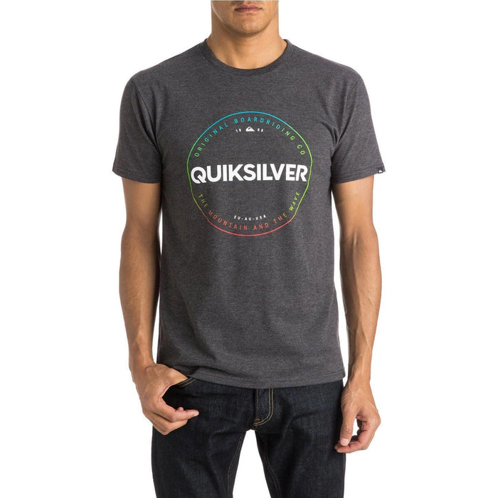 T-Shirt - Quiksilver Time Piece T-Shirt - Heather