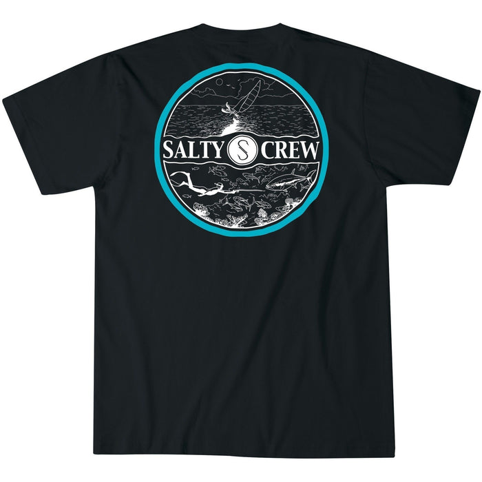 T-Shirt - Salty Crew Over-Under Short Sleeve T-Shirt