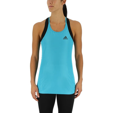 Tank Top - Adidas Performance Step Up Women's Tank Top - Energy Blue