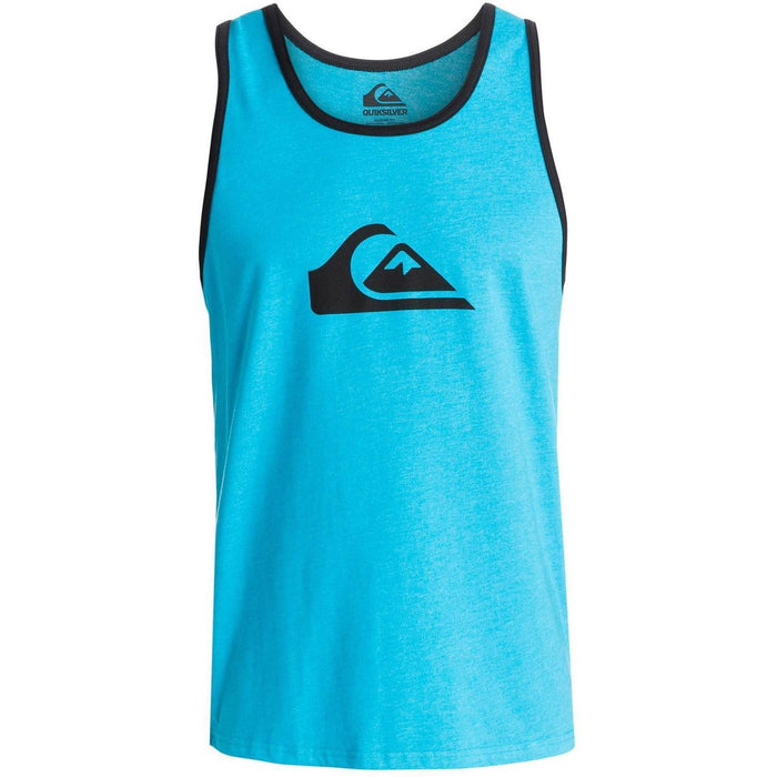 Tank Top - Quiksilver  Everyday Tank -Blue/Heather