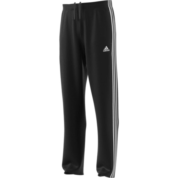Training Pants - Adidas Essential 3 Stripe Relaxed Tricot - Black