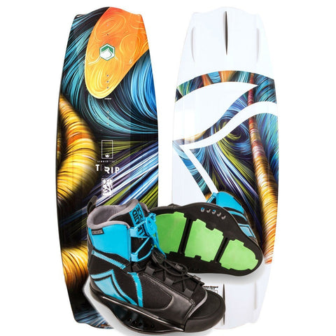Liquid Force Trip Wakeboard Package with Index Bindings 2017