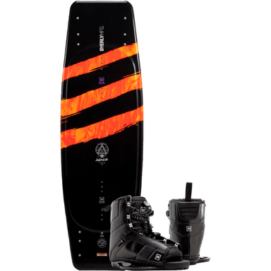 Wakeboard Package - Byerly Agenda Wakeboard With Trace Wake Bindings
