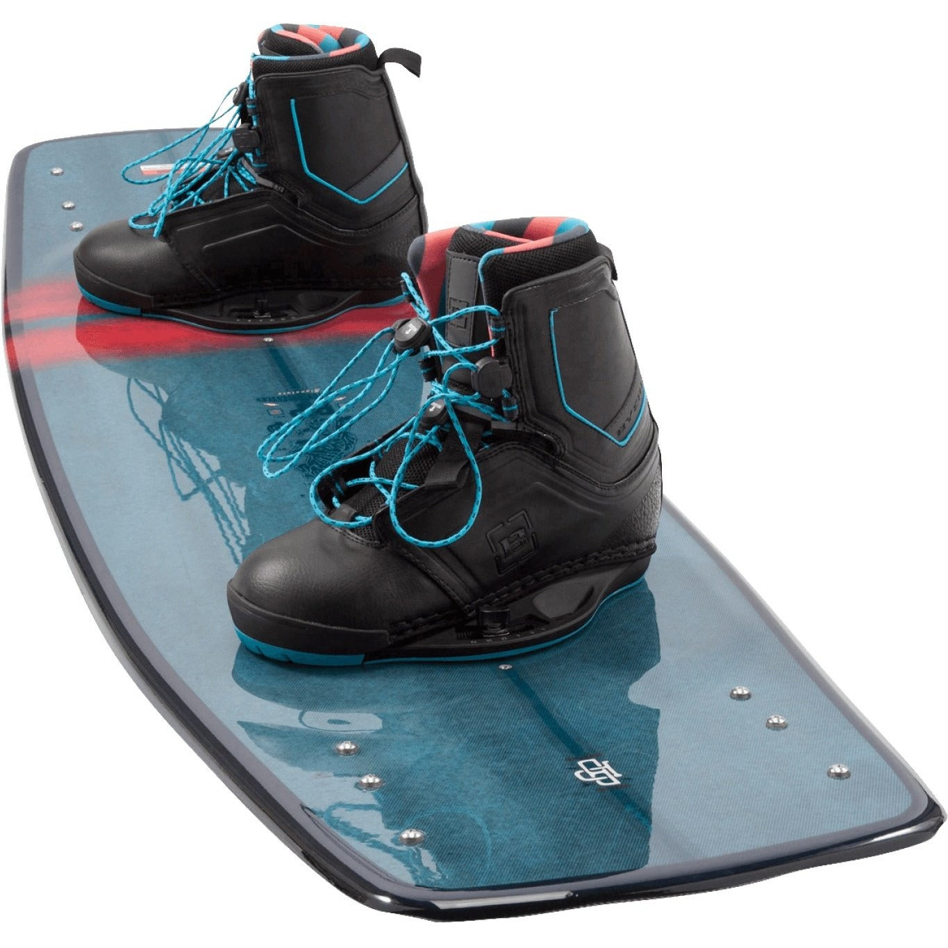 Byerly BP Wakeboard Package with Clutch Boots - 88 Gear