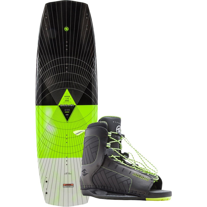 Hyperlite Baseline Wakeboard Package With Remix Boots -2018