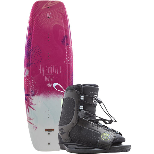 Wakeboard Package - Hyperlite Divine Young Girls Wakeboard Package - 2018