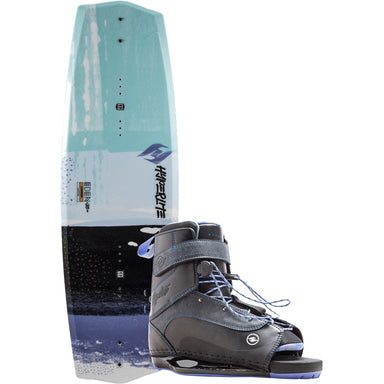 Wakeboard Package - Hyperlite Eden 2.0 Women's Wakeboard Package With Blur Boots -2018