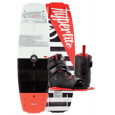Wakeboard Package - Hyperlite Franchise Wakeboard Package With Focus Bindings -2017