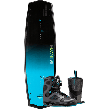 Wakeboard Package - Hyperlite Marek Bio Wakeboard W/ Team Closed Toe Binding 2016