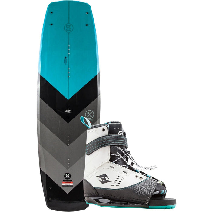 Wakeboard Package - Hyperlite Murray Wakeboard Package With Focus Boots - 2018