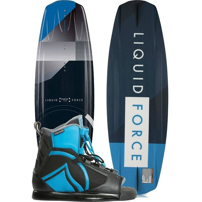 Liquid Force Omega Grind Wakeboard Package - 2018 - 88 Gear
