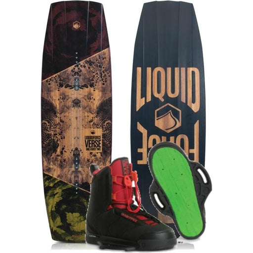 Wakeboard Package - Liquid Force Verse Wakeboard Package