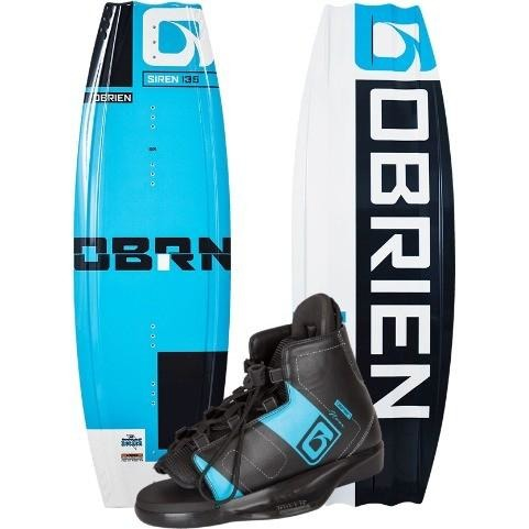 Wakeboard Package - O'Brien Siren Women's Wakeboard Package W/ Nova Bindings -2017