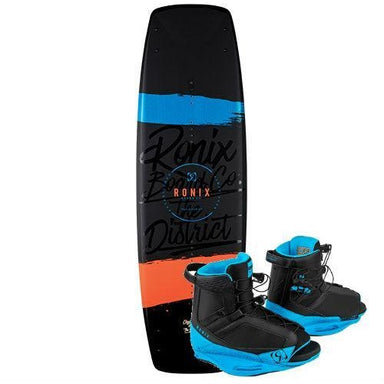 Ronix District Wakeboard Package with District Boots - 2018 - 88 Gear