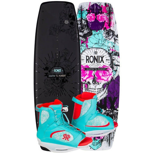 Wakeboard Package - Ronix Quarter Til Midnight Wakeboard Package - 2017