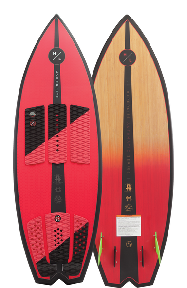 Hyperlite Automatic Wakesurf Board 2019 - 88 Gear