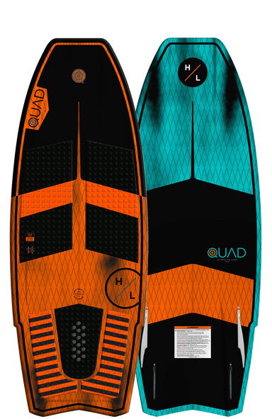 Hyperlite Quad Wakesurf Board 2019