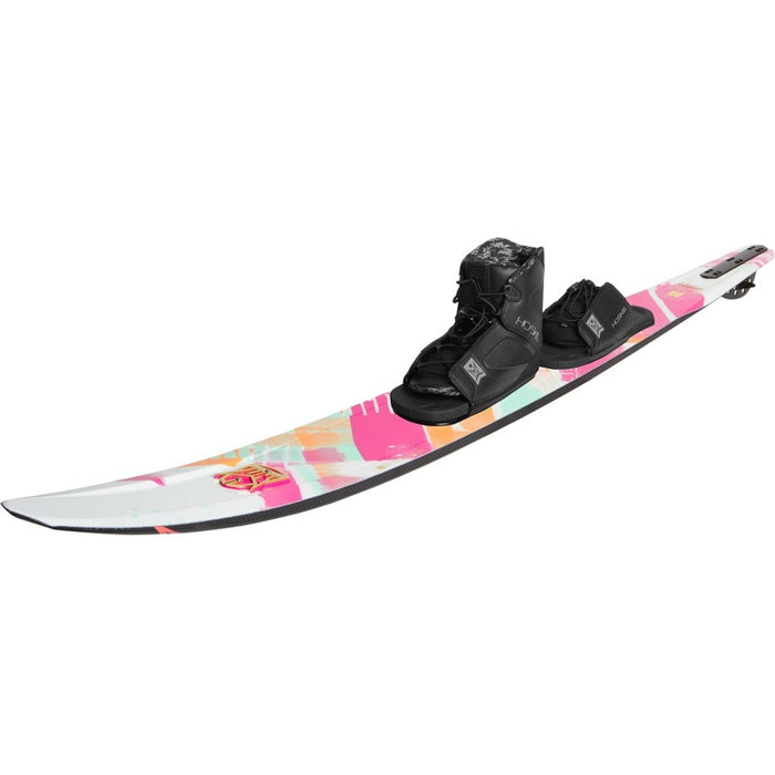 HO Women's Slalom Water Ski Package CX with FreeMax - 88 Gear