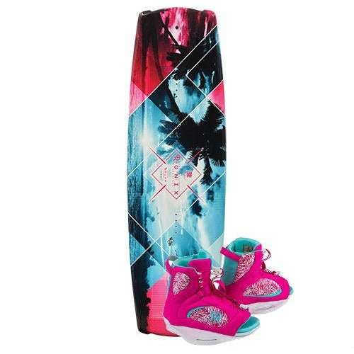 Ronix Krush Women's Wakeboard Package