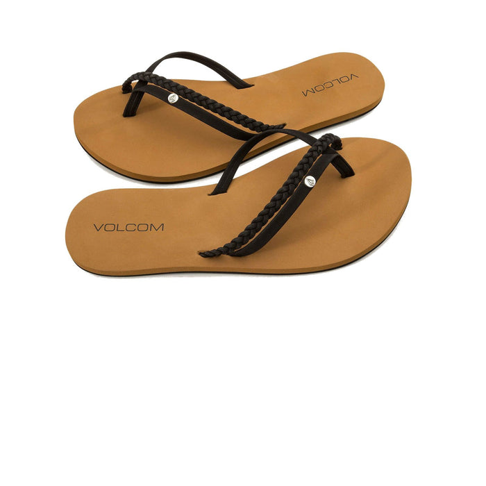 Volcom Women's Thrills Sandals Black