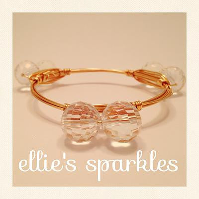 Double Clear Bangle