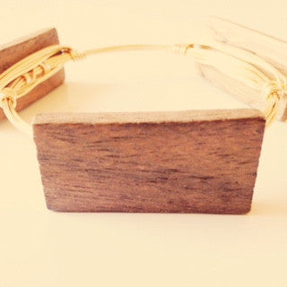Wood Bar Bangle