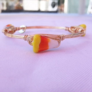 Halloween Candy Corn Bangle