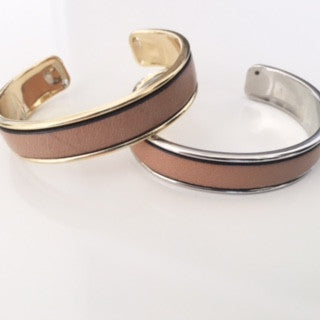 Tan Leather Cuff