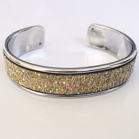 Gold Iridescent Sparkle Cuff