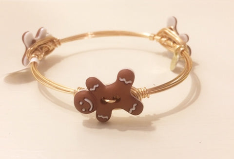 Gingerbread Man Bangle