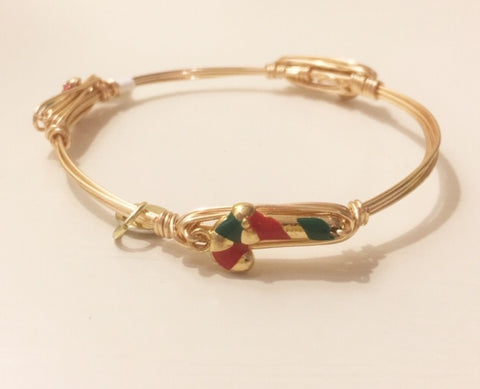 Candy Cane Bangle