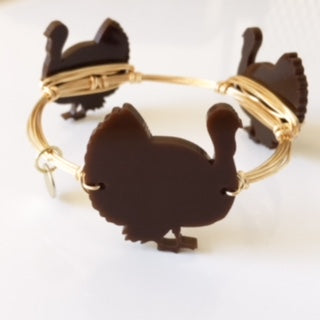 Turkey Bangle (brown)